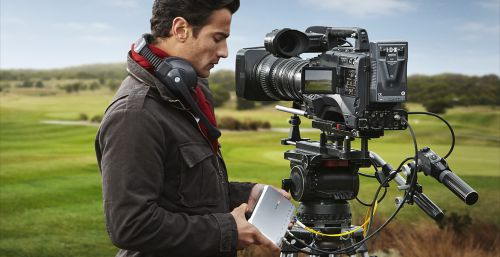 Blackmagic ATEM studio and camera